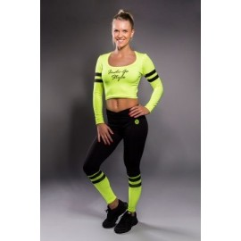 Lara Leggings galbenneon