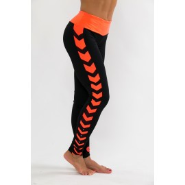 Runway Leggings negru-somonneon