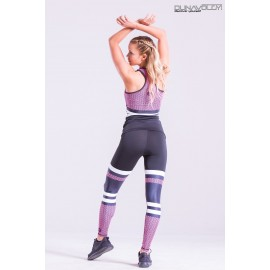 Scaly Leggings pinkneon