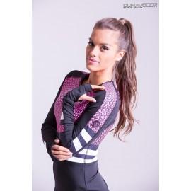 Scaly bluza pinkneon