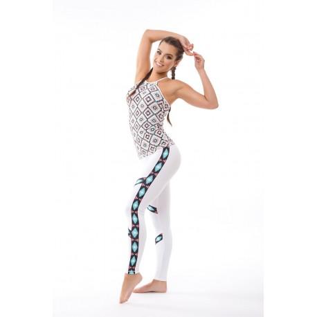 Mexican White leggings
