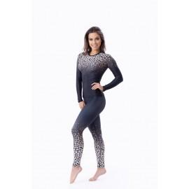 Leopard Bluza maneca lunga