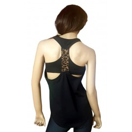 Ole  maiou negru leopard