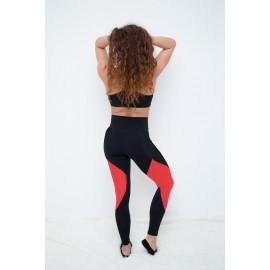 Push Up 2 leggings negru / mozaic