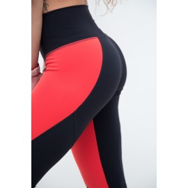 Push Up 2 leggings galbenneon / negru