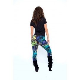 Multicolor leggings -...