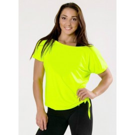 Tricou Dance galbenneon