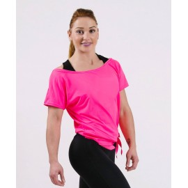 Tricou Dance pinkneon