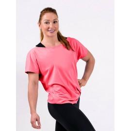 Tricou Dance roz piersica