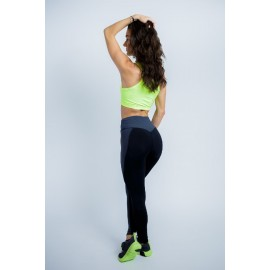Leggings Tanga Apple negru...