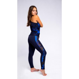 Army Leggings bleumarin