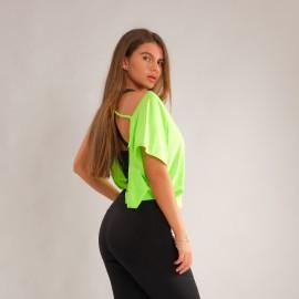 Tricou Dance Iulia verdeneon