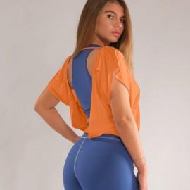 Tricou Dance Iulia portocaliu